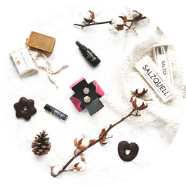 Naturkosmetik Box - Vegan Beauty Basket Weihnachtsbox 2017