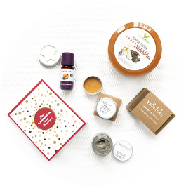 Naturkosmetik Box - Vegan Beauty Basket Weihnachtsbox 2019
