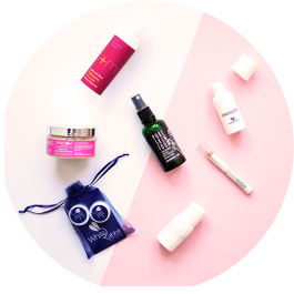 Vegan Beauty Basket Valentinstag