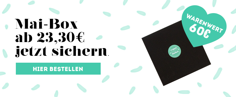 Vegan Beauty Box Mai 2019 Bestellen