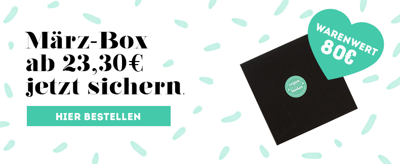Vegan Beauty Box Maerz 2019 Bestellen